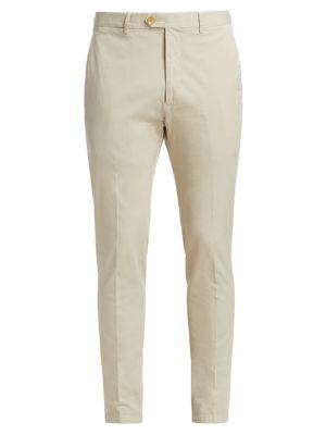 Eaton Slim-Fit Twill Pants