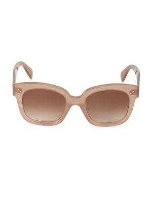 54MM Square Plastic Sunglasses