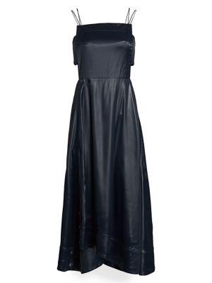 Lacquered Midi Dress