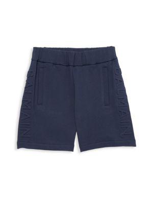 Little Boy's & Boy's Embossed Shorts