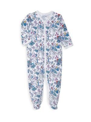 Baby's Charlie & Friend Floral Footie Pajama