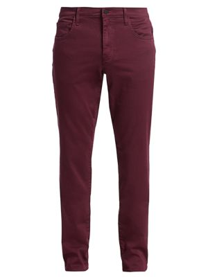 Slim-Fit French Terry Pants