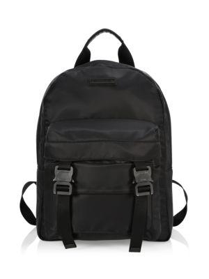Nylon Double Buckle Backpack