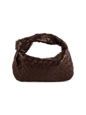 Mini BV Jodie Leather Hobo Bag