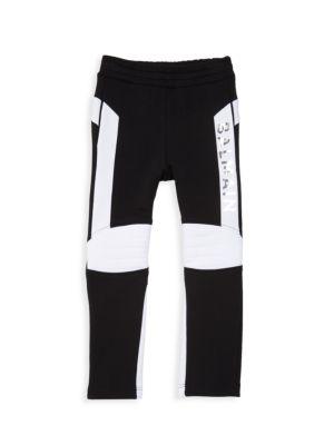 Little Boy's & Boy's Two-Tone Sweatpants