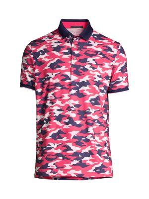 Camo-Print Polo Shirt