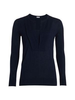 Trompe L'oeil Long Sleeve Sweater
