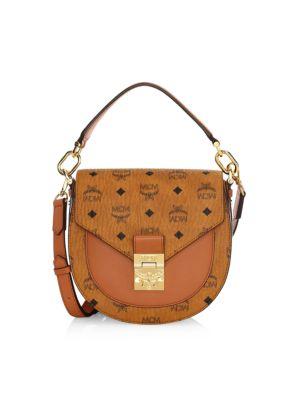 Small Patricia Visetos Saddle Bag