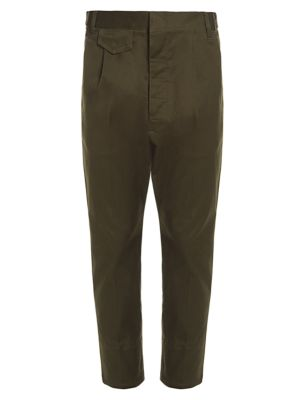 Aviator Fit Stretch Cotton Pants