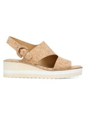 Shelby Cork Slingback Sandals