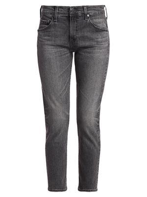 Ex-Boyfriend Slim-Fit Crop Jeans