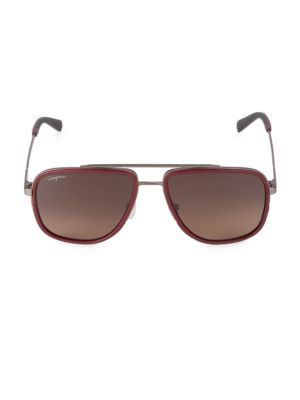 Italian Lifestyle 57MM Navigator Sunglasses