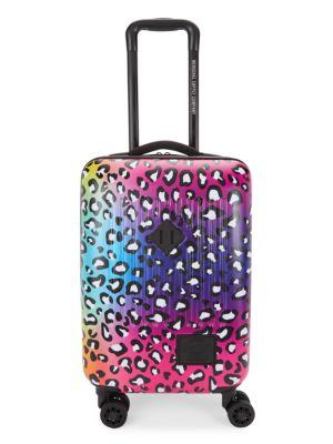 Gradient Leopard-Print Little Herschel Suitcase