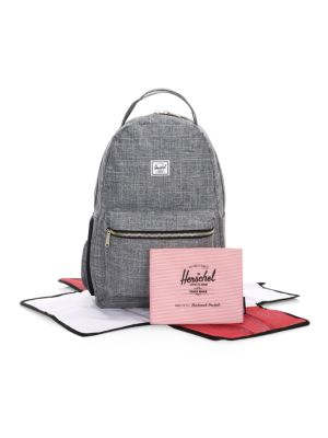 Crosshatch Changing Mat Backpack