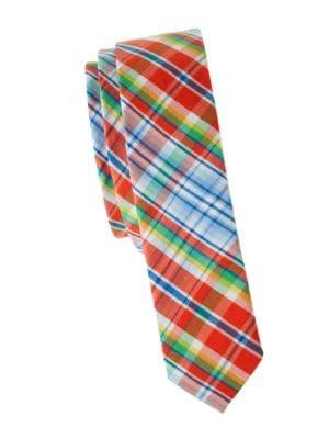 Boy's Plaid Tie