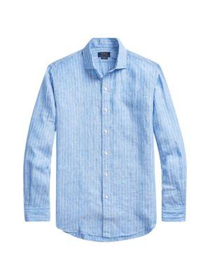 Better Linen Striped Shirt