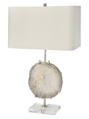 Exhibit Agate Table Lamp