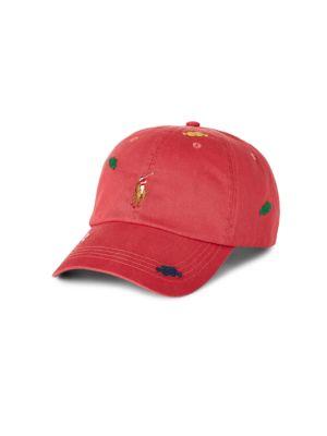 Embroidered Classic Chino Cap