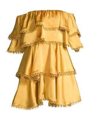 Fina Tiered Ruffle Mini Dress