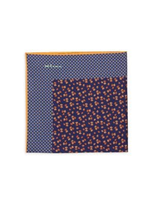 Ditsy Floral Silk Pocket Square