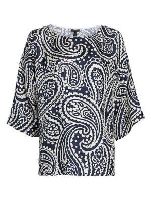 Nemila Paisley Silk Tunic