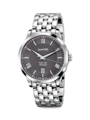 Extra-Fort Stainless Steel Automatic Bracelet Watch