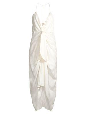 Daphne V-Neck Wrap Dress