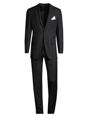 Regular-Fit Classic Wool Suit