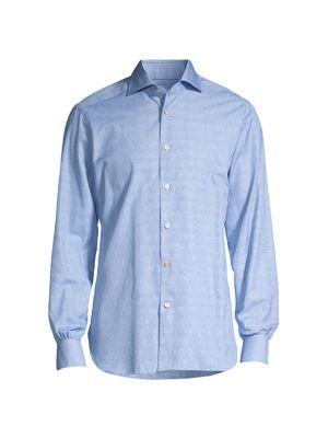 Glen Plaid Sport Shirt