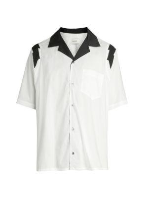 Lightening Bold Button Up Shirt