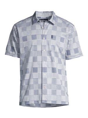 Stackpole Gingham Stripe Short-Sleeve Shirt