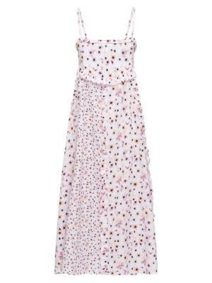 Soiree Floral Ruffle Dress