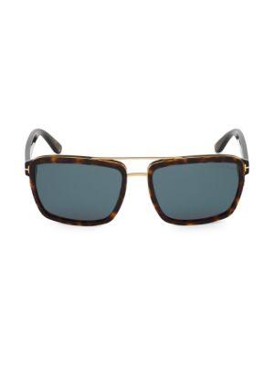 58MM Plastic Square Sunglasses