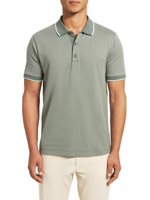 Contrast Comfort-Fit Polo Shirt