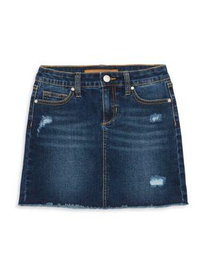 Girl's Stretch Denim Skirt