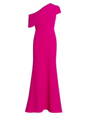 Asymmetrical Runway Gown