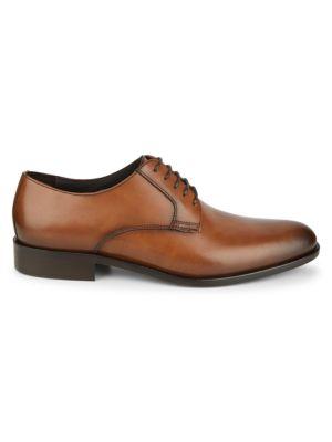 Altman Plain-Toe Leather Oxford Shoes