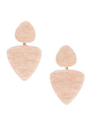 Tahiti 2-Drop Clip-On Earrings