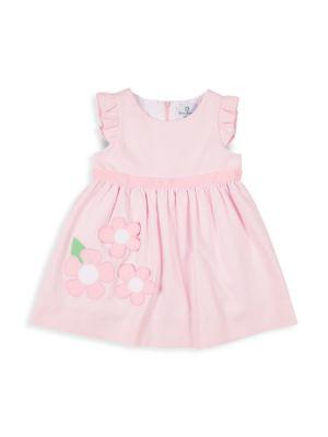 Little Girl's Floral Ruffle Dress