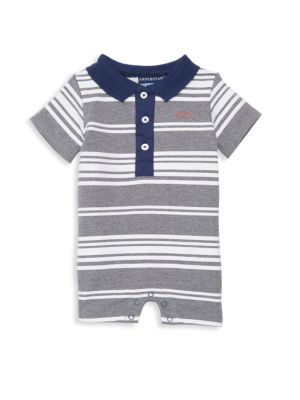 Baby Boy's Polo Romper