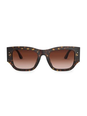 52MM Rectangular Sunglasses