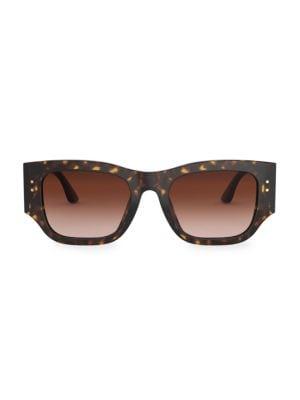 52MM Rectangular Sunglasses