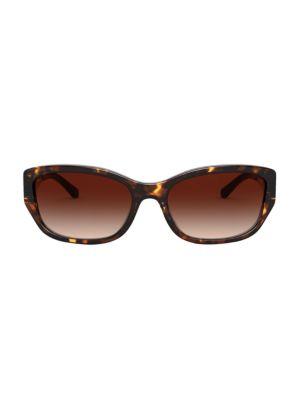 57MM Rectangular Sunglasses