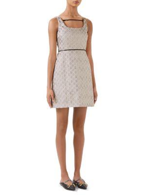 Heritage GG Lamé Short Dress