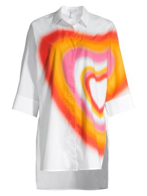 Ombre Heart Tunic