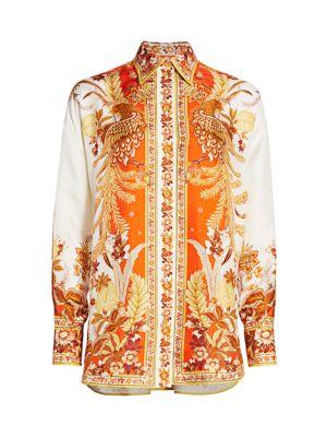 Brightside Placement Silk Shirt