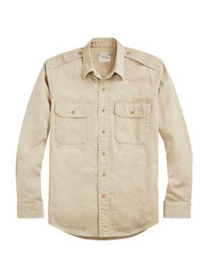 Better Woven Classic-Fit Cargo Shirt