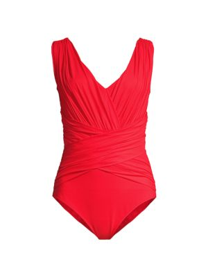 Ansy Ruched One-Piece Swimsuit