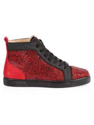 Louis Orlato Flat Glitter High-Top Sneakers
