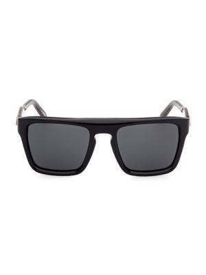 55MM Plastic Square Sunglasses